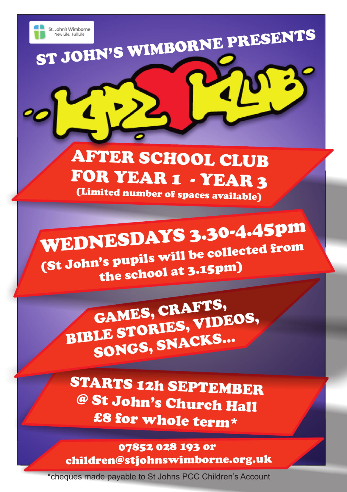 KidzKlub Registration Form pdf icon