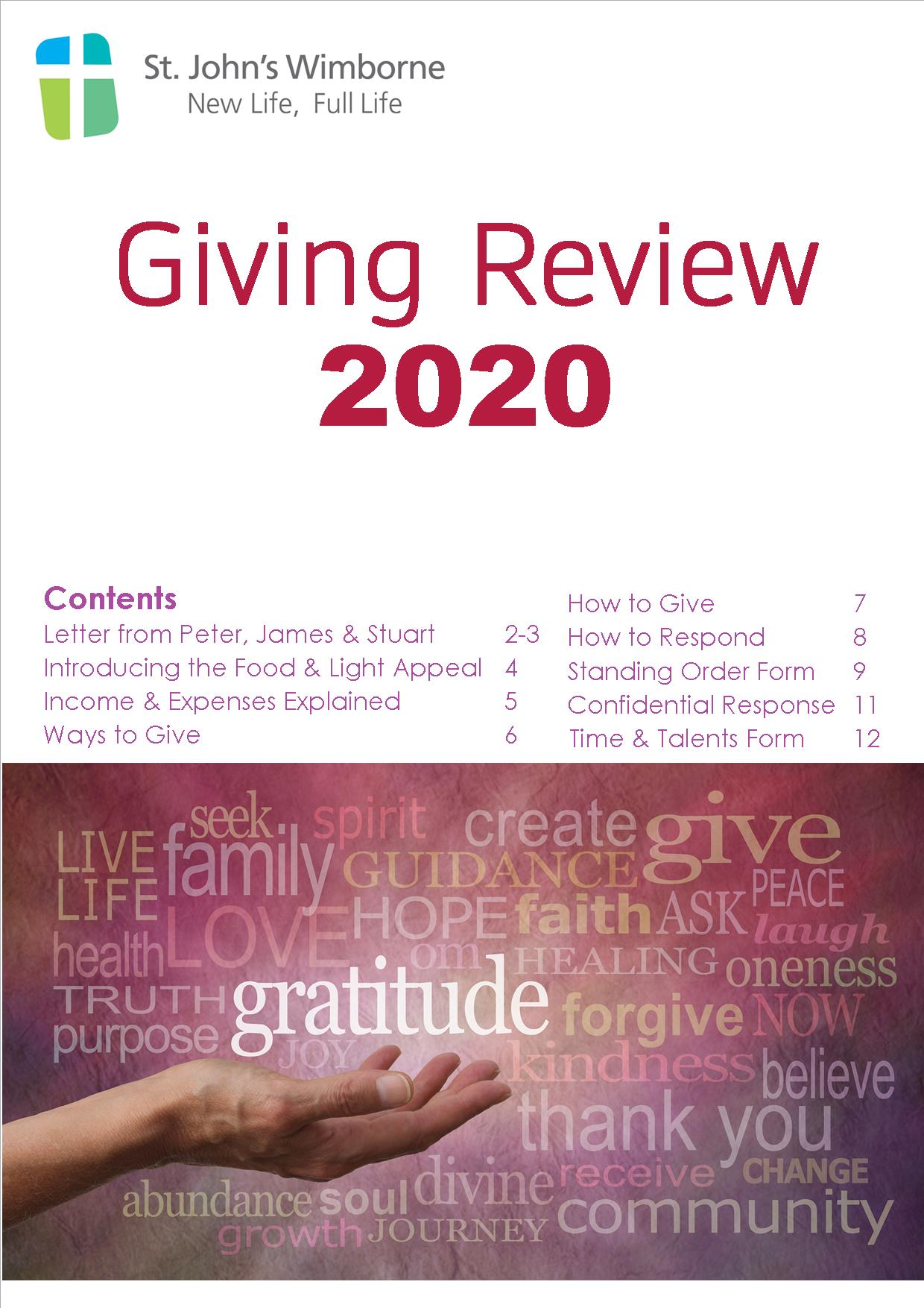 Giving Review 2020 pdf icon